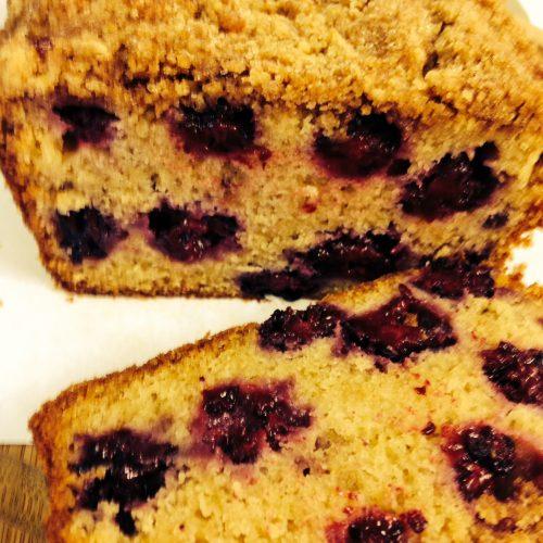 Blackberry Loaf Cake
