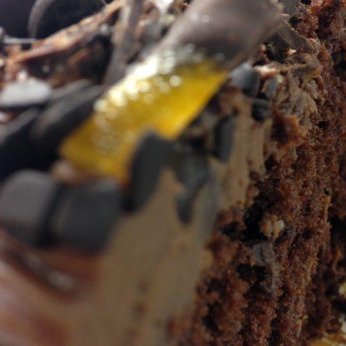 Belgium Chocolate & Orange Cake