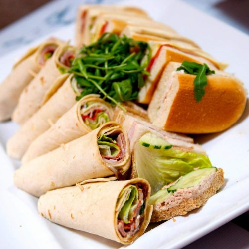 Mixed Filled Wraps/Subs/Sliced Bread Platter