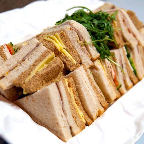 Sliced Bread Sandwich Platter