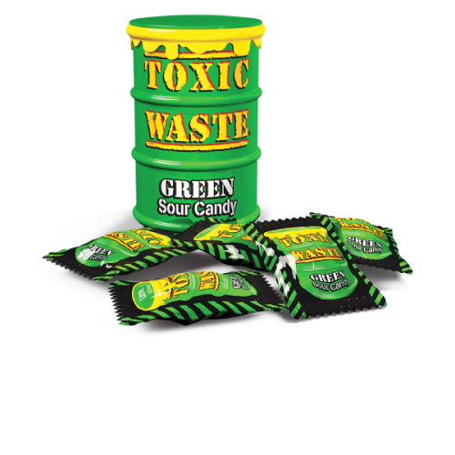 Toxic-Waste-Green-Sour-Candy
