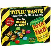 toxic waste 340g